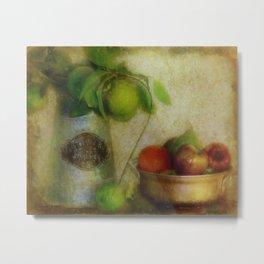 Bush Lemons and Fruit Metal Print