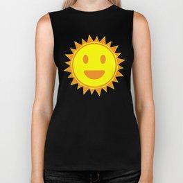 Smiling Suns Biker Tank