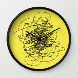 DEVOTIONAL SCRIBBLE Wall Clock