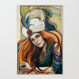 illustration of sultana Hurem Canvas Print