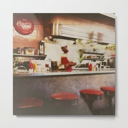 the clover grill Metal Print