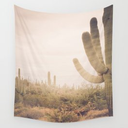 Saguaro Sunrise Wall Tapestry