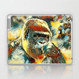 AnimalArt_Gorilla_20180201_by_JAMColorsSpecial Laptop & iPad Skin