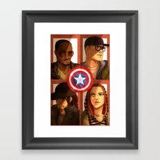 Team America Framed Art Print