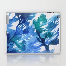 Morning Blossoms 2 - Blue Variation Laptop & iPad Skin