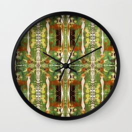 Out there in the woods, I feel peace........ Wall Clock