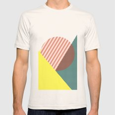Minimal Complexity v.2 SMALL Natural Mens Fitted Tee