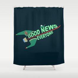 Good News Everyone Shower Curtain