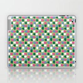 Colorful pills Laptop & iPad Skin