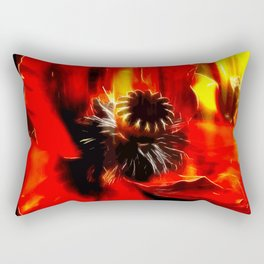 Mohnblüte Rectangular Pillow