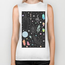 Crystal Witch Starter Kit - Illustration Biker Tank