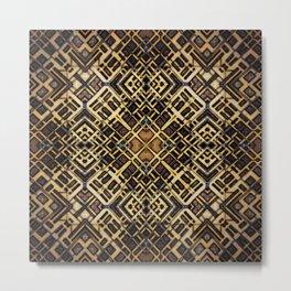 Latticework Metal Print