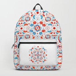 Folkloric Lovebirds Backpack