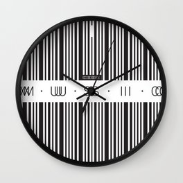 Music Code Wall Clock