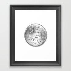 100 Fils Framed Art Print
