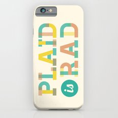 Plaid is Rad iPhone 6s Slim Case