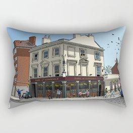 Pigeons Over London Rectangular Pillow