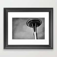 Needle Framed Art Print