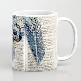 Art on dictionary #Tie fighter Coffee Mug