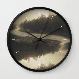 Road of life Wall Clock