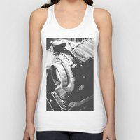 old school Tank Tops featuring Old school  by Olivier P.