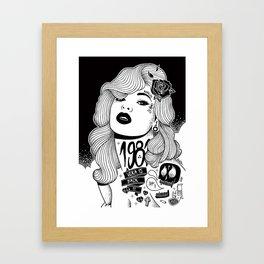 VERA IS BACK :: JuaNitooX Framed Art Print