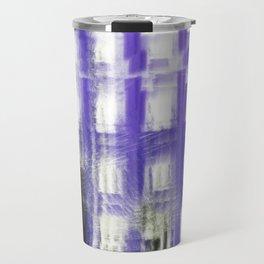 Purple building Travel Mug