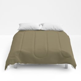 Dunn & Edwards 2019 Trending Colors Camouflage (Dark Brown) DEA172 Solid Color Comforters
