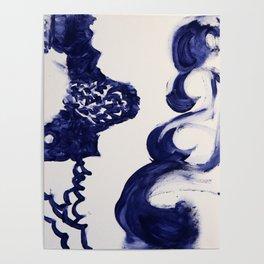 Women Waves Poster