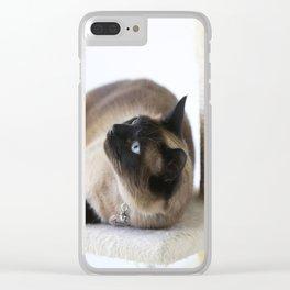 Beautiful Dreamer Clear iPhone Case