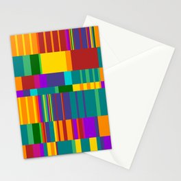 Chopin Prelude (Bright Colours) Stationery Cards