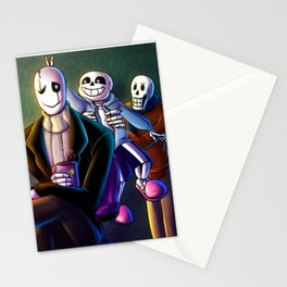 World's Okayest Family Stationery Cards