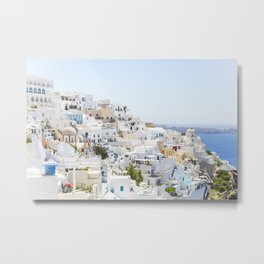 Fira, Santorini Greece Metal Print