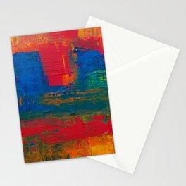 Reggae Rainbow Paint (Color) Stationery Cards
