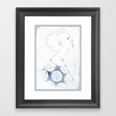 Delia Framed Art Print