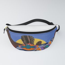 Shaw Dancer #3 Square Fanny Pack