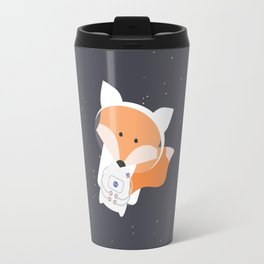 Astronaut Fox Travel Mug