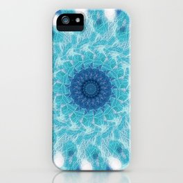 Celestial Joy Mandala iPhone Case