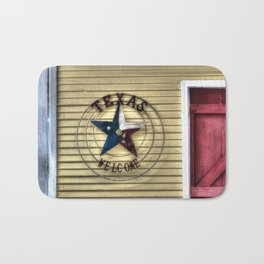 Texas Welcome Bath Mat