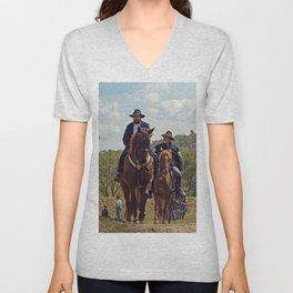 Weary Union Soldiers Unisex V-Neck