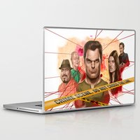 dexter Laptop & iPad Skins featuring Dexter by Nithin Rao Kumblekar
