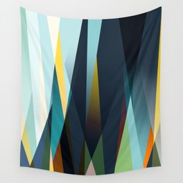 mid century geometry Wall Tapestry