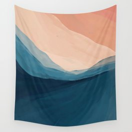 Golden Peaks Nature Wall Tapestry