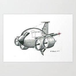KC-135 by R. Reed Art Print