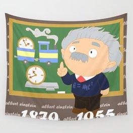 Albert Einstein Wall Tapestry