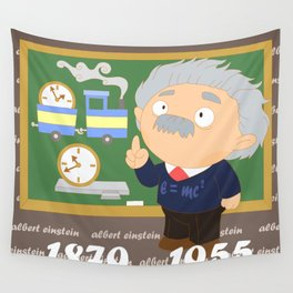 Albert Einstein Wall Tapestry