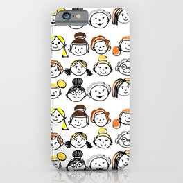 Sister hood - women internacional day iPhone Case