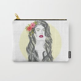 Flower in her hair Carry-All Pouch