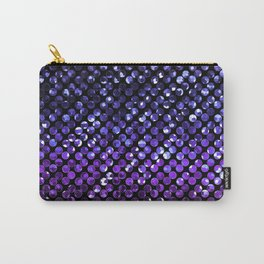 Crystal Bling Strass Purple G323 Carry-All Pouch