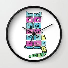 Science. Cat. Chemistry. Mendeleev. Wall Clock